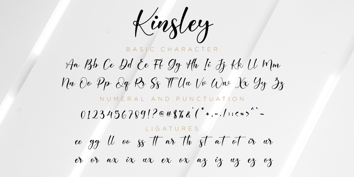 Download Kinsley Font Family From Nissa Nana