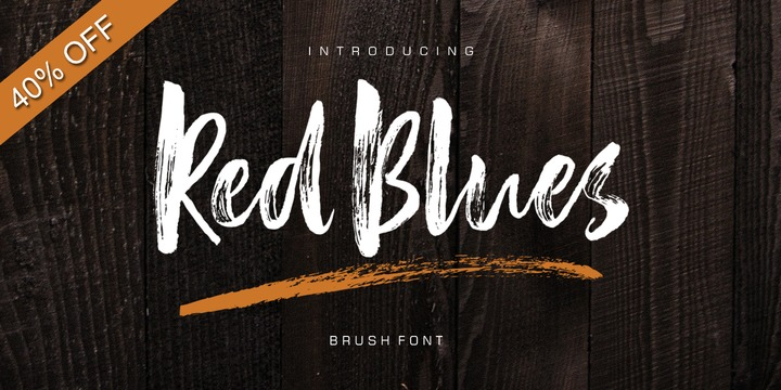 Download Red Blues Script Font Family From Lucky Type