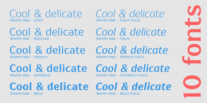 Wamm 01 SE   Webfont & Desktop font   MyFonts
