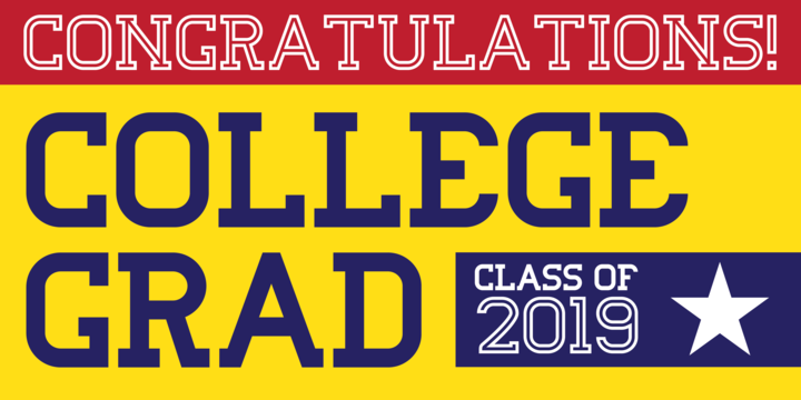 Download College Grad Font Family From Throndsen