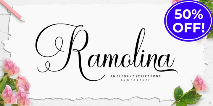 Download Ramolina Script Font Family From Mega Type