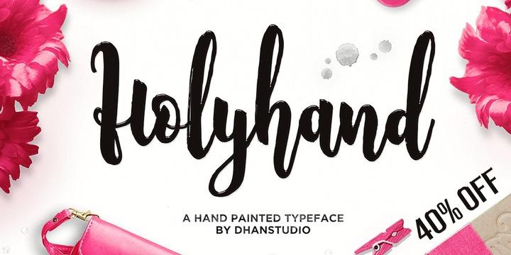 Holyhand Script   Webfont & Desktop font   MyFonts