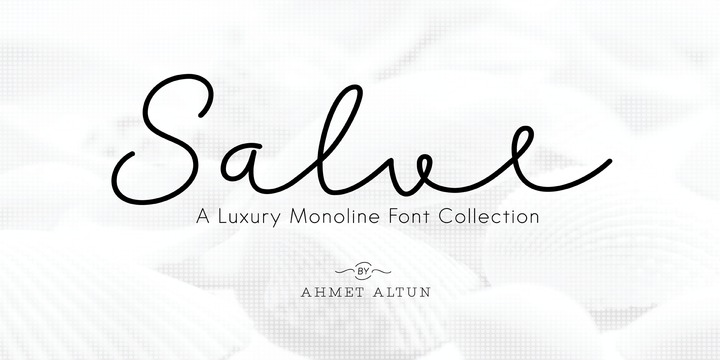 Download Salve Font Family From Ahmet Altun