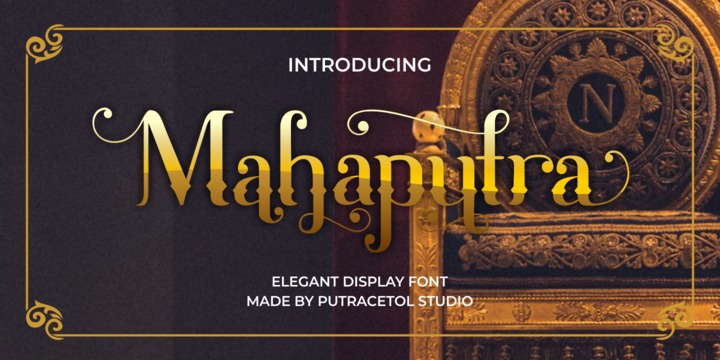 Download Mahaputra Font Family From Putracetol