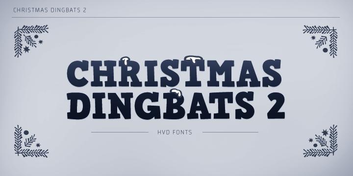 Christmas Dingbats 2™ - Webfont & Desktop font « MyFonts