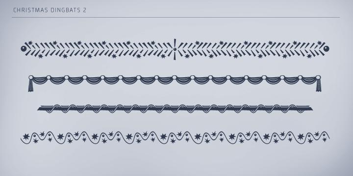 Christmas Dingbats 2 | Webfont & Desktop font | MyFonts