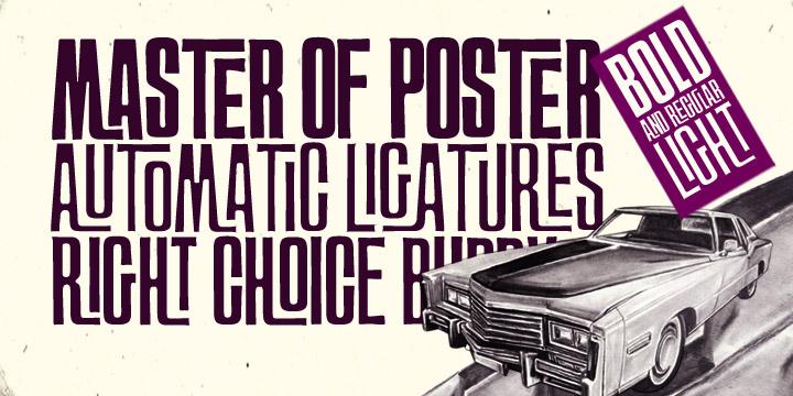 Ft Master Of Poster Webfont Desktop Font Myfonts