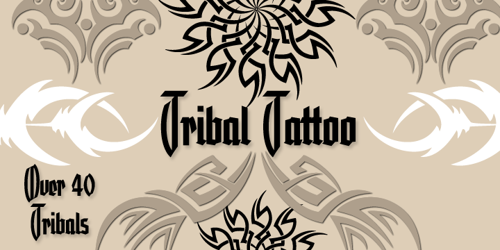 Tribal Tattoos comes from the German tattoo artist Otto Maurer
