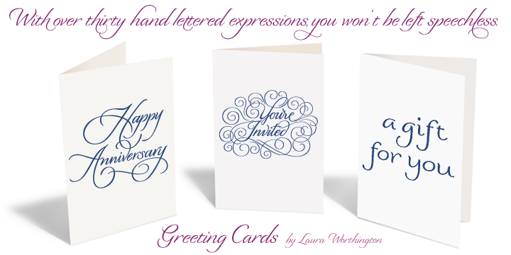 Greeting cards webfont desktop font myfonts about this font family greeting cards bookmarktalkfo Choice Image