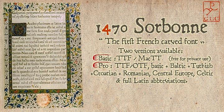 1470 Sorbonne | Webfont & Desktop font | MyFonts