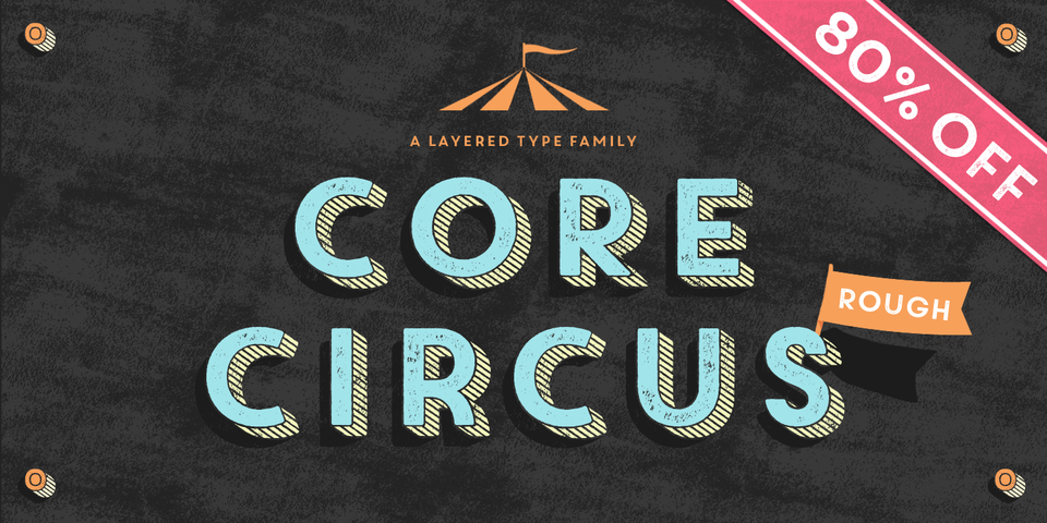 Special offer on Core Circus Rough