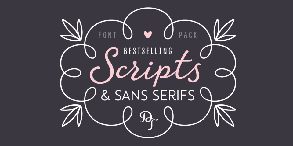 The Best of DearType's Scripts & Sans Serifs by DearType