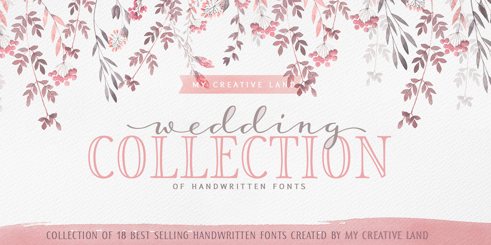 18 Free Script Fonts for Your DIY Wedding Invitations