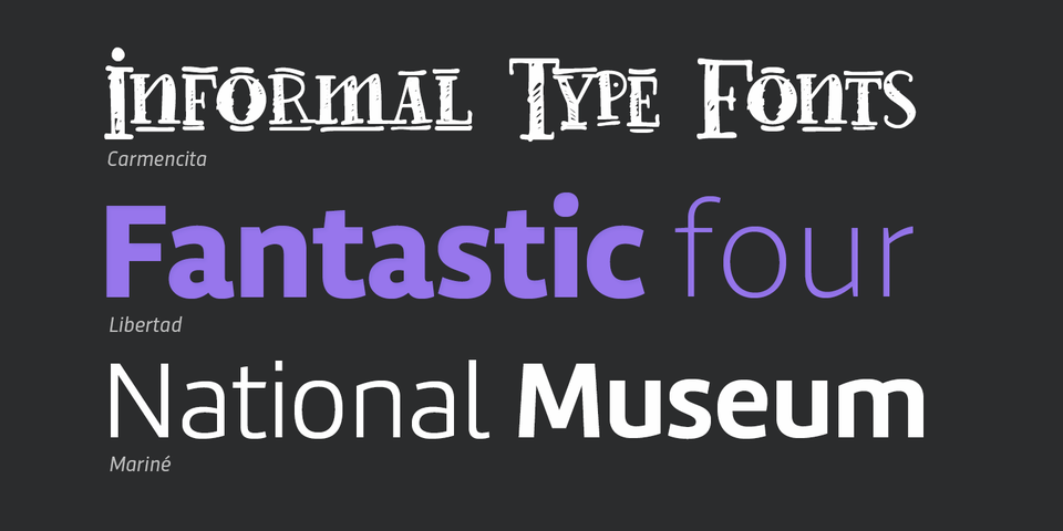 TipoType's Display Font Collection « MyFonts