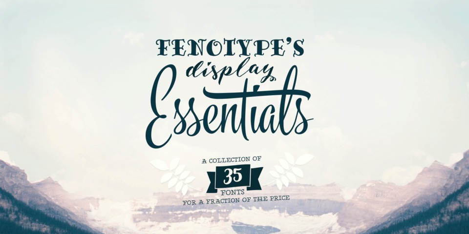 Fenotype's Display Essentials by Fenotype