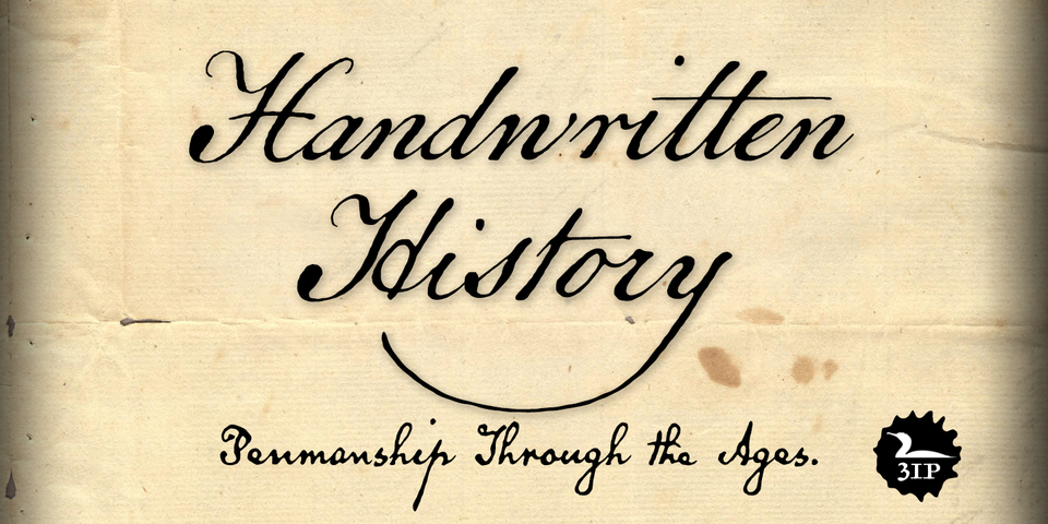Handwritingfont For Thought