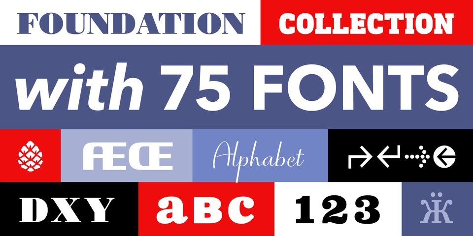 The Foundation Collection by Monotype