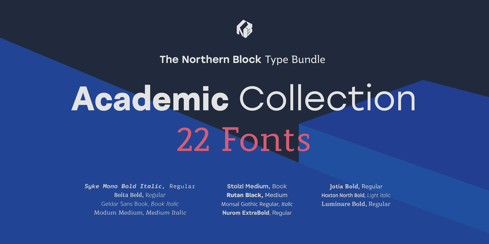 The Northern Block's Academic Collection by The Northern Block Ltd