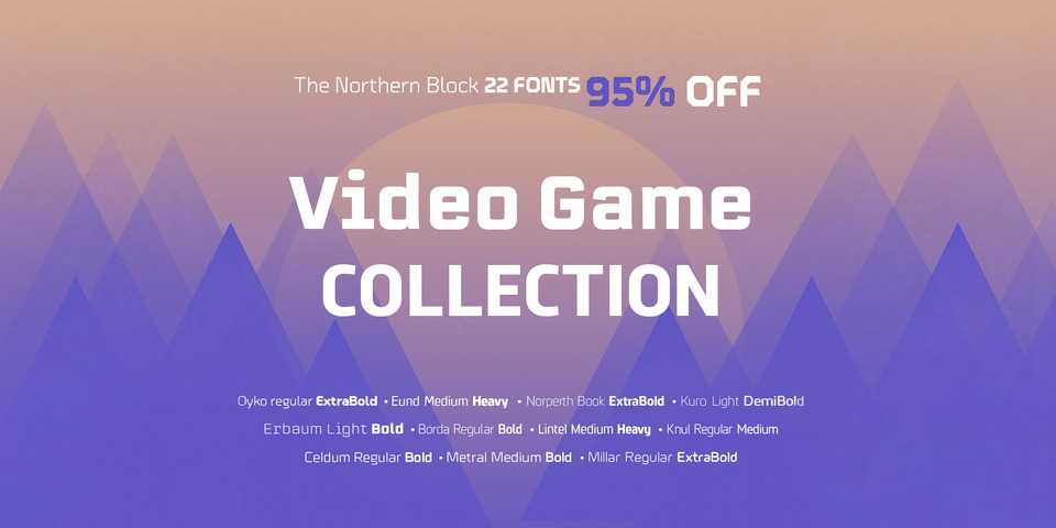 The Northern Block's Video Game Collection by The Northern Block Ltd