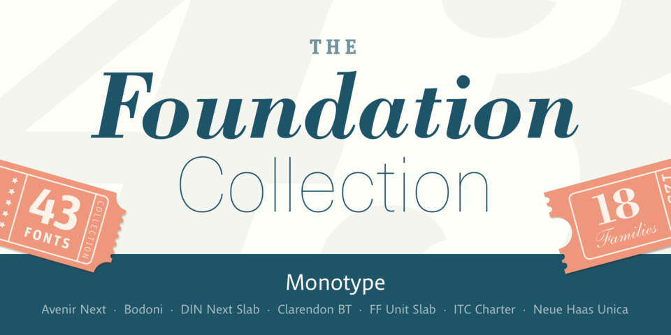 The Foundation Collection « MyFonts