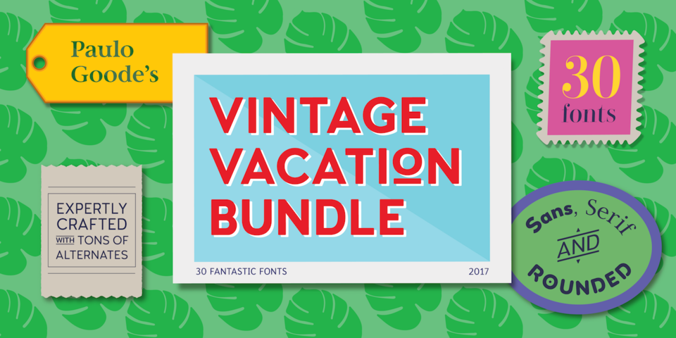 Vintage Vacation Bundle by Paulo Goode