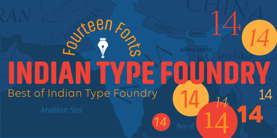The Best of Indian Type Foundry by Indian Type Foundry