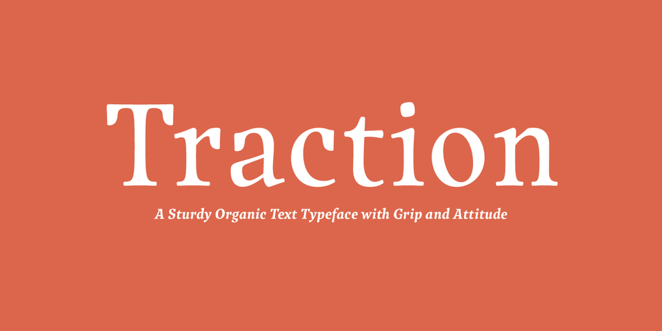 Traction font page