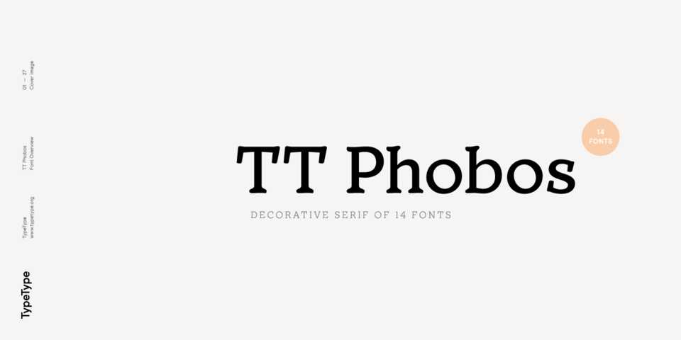 TT Phobos font page