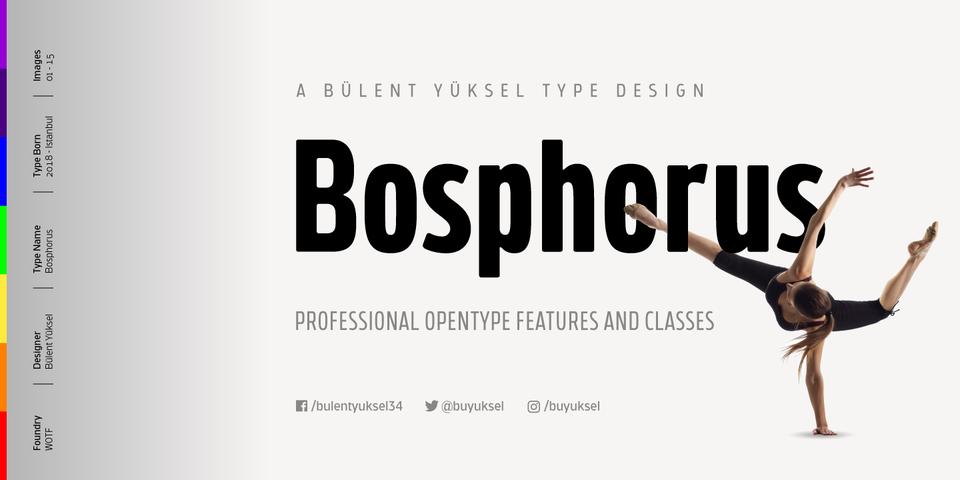Bosphorus font page