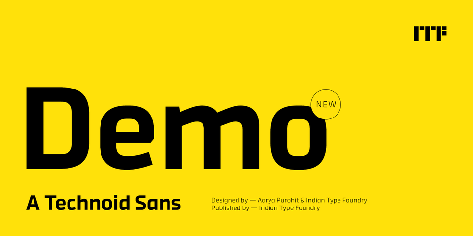 Demo font page