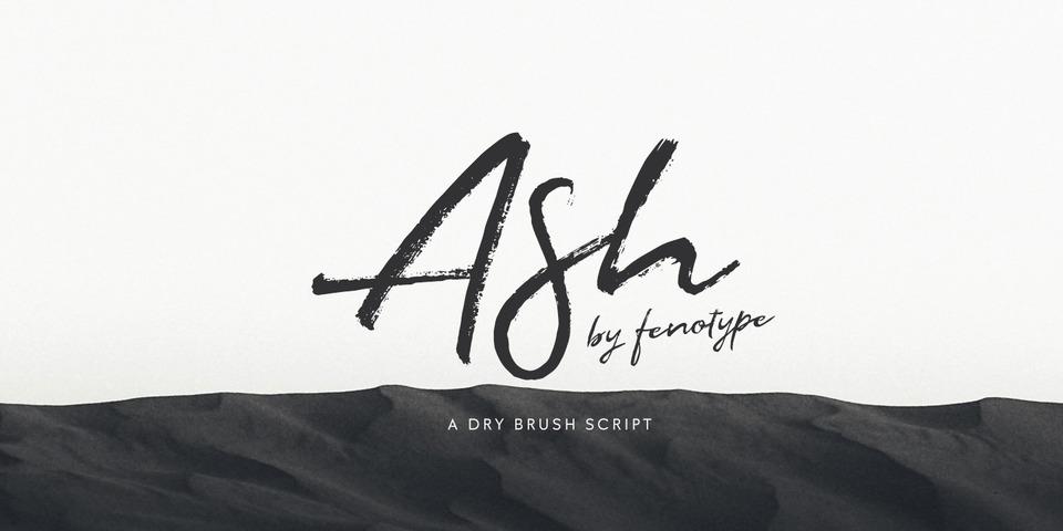 Ash font page