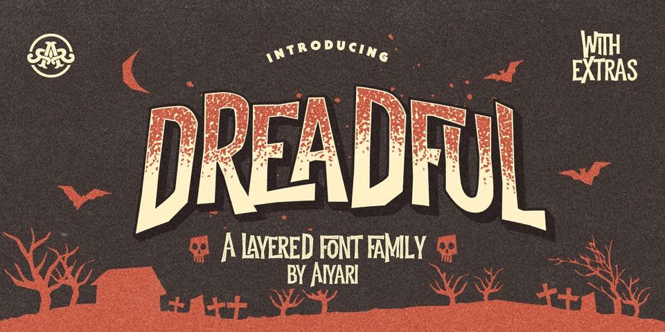 Dreadful font page