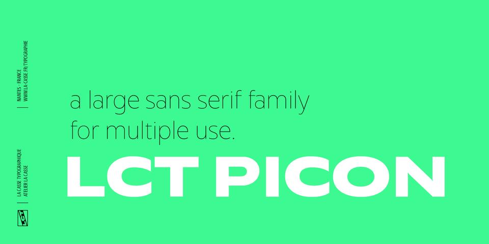 LCT Picon font page