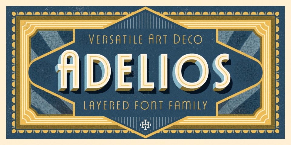 Adelios font page