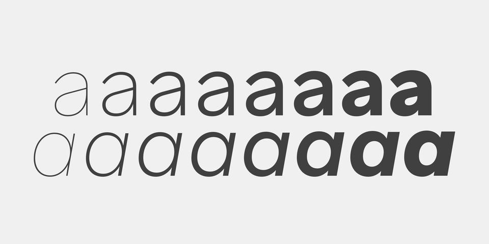Aribau Grotesk font page