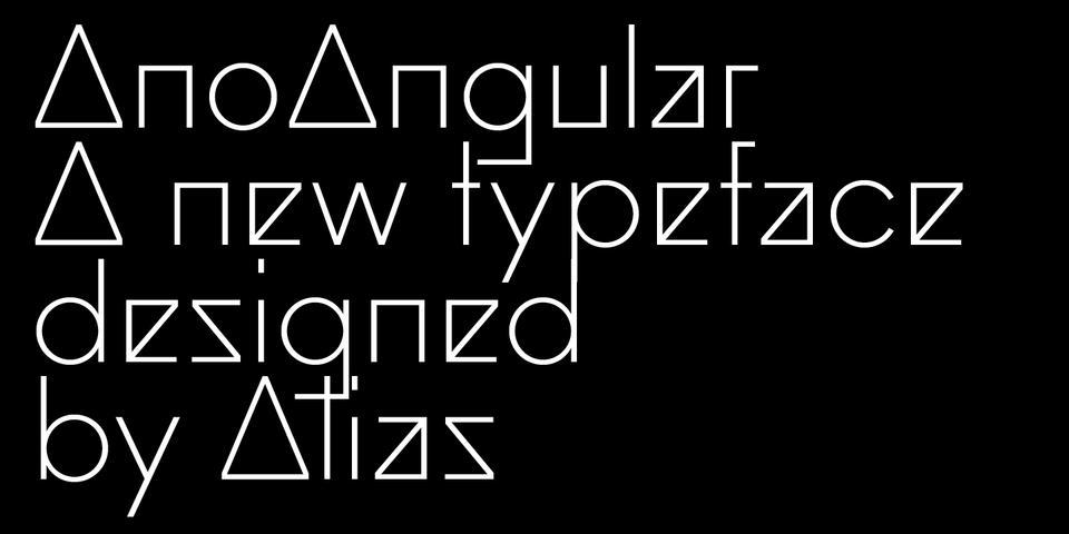 Ano Angular font page