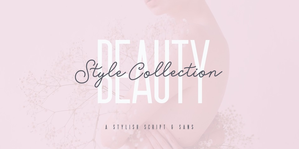 Beauty Style font page