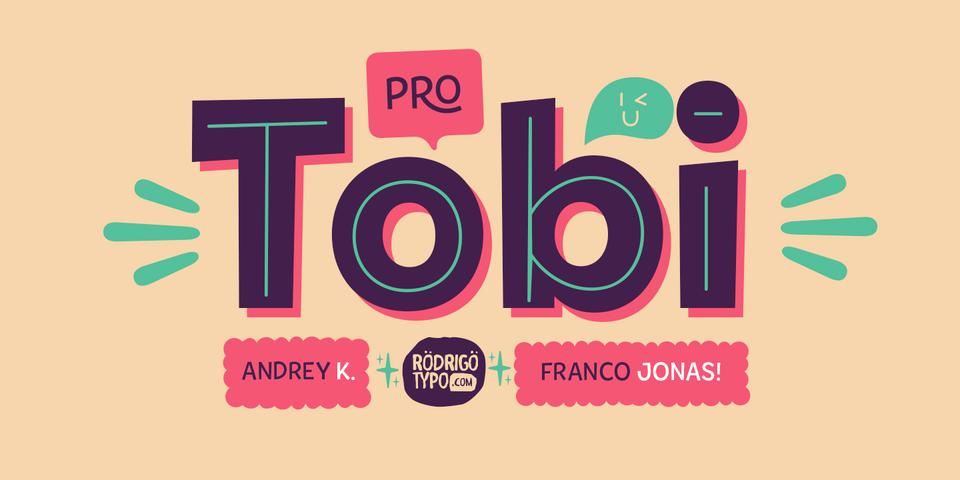 Tobi Pro font page