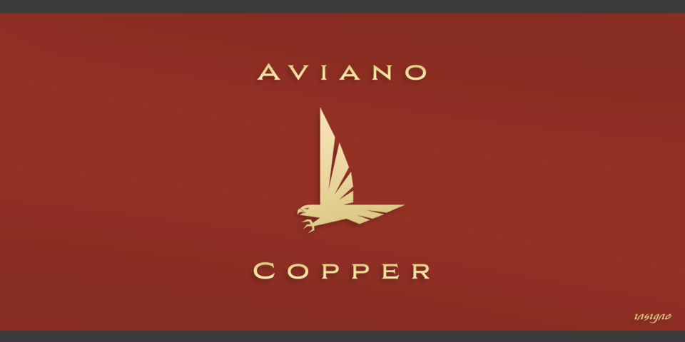 Aviano Copper font page