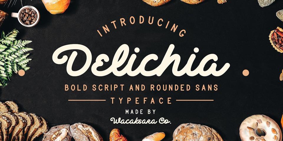 Delichia  font page