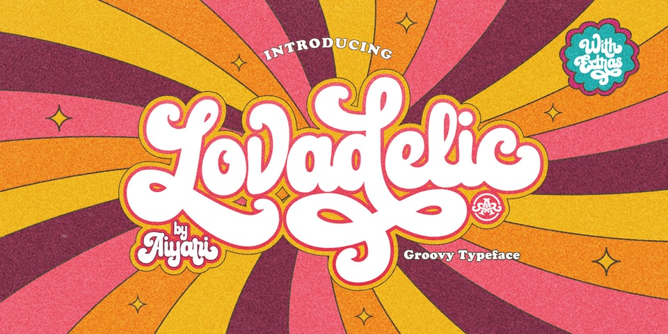 Lovadelic font page