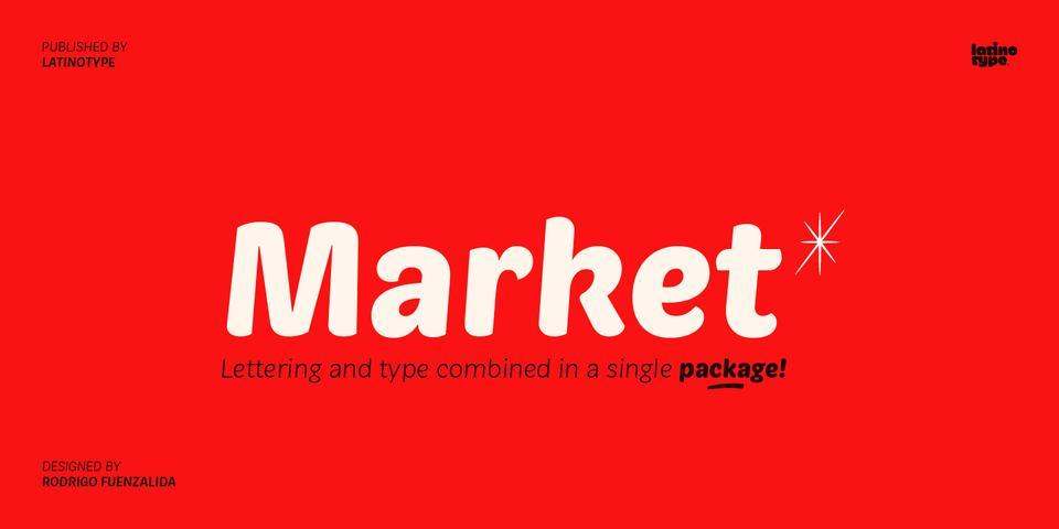 Market font page