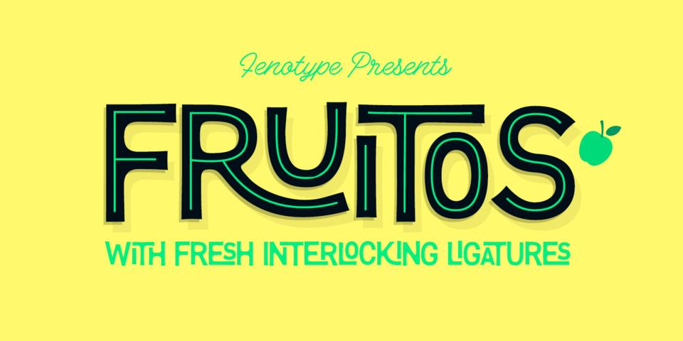 Fruitos font page