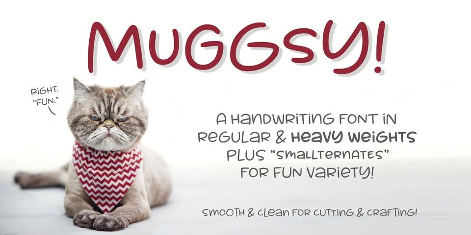 Muggsy font page