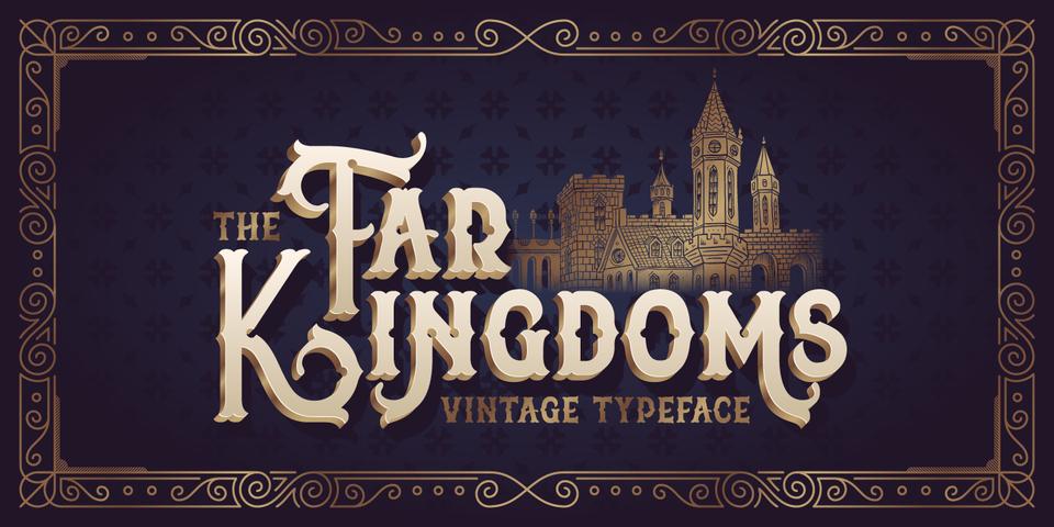 Far Kingdoms font page