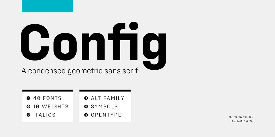 Config font page
