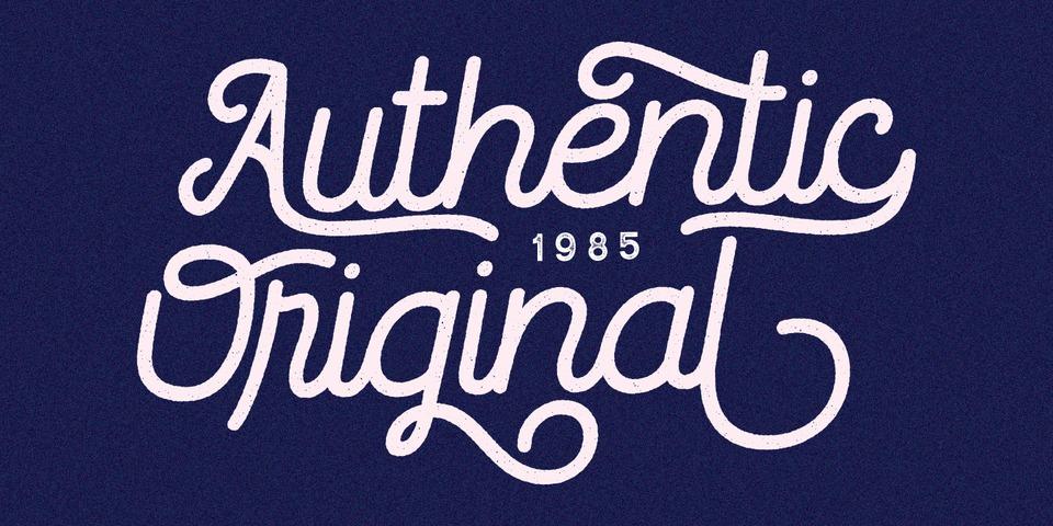Routerline Rough font page