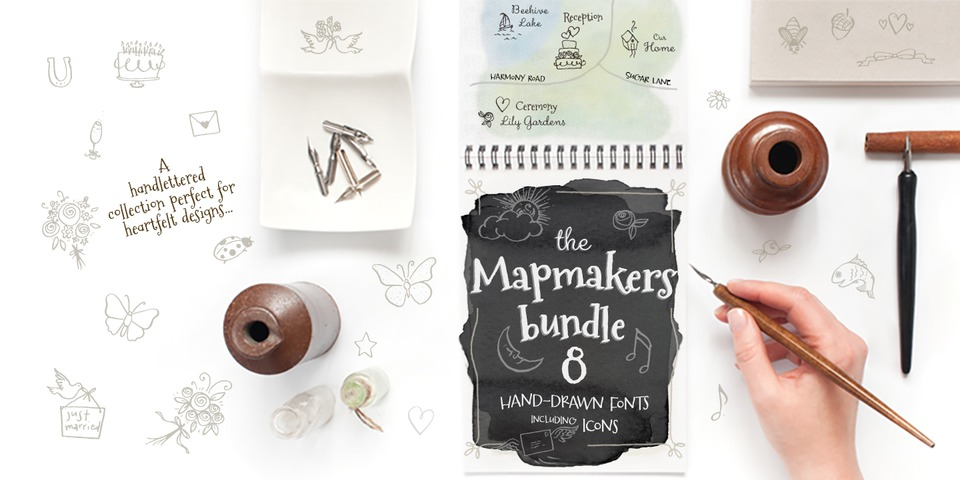 Mapmaker's Bundle by Tart Workshop