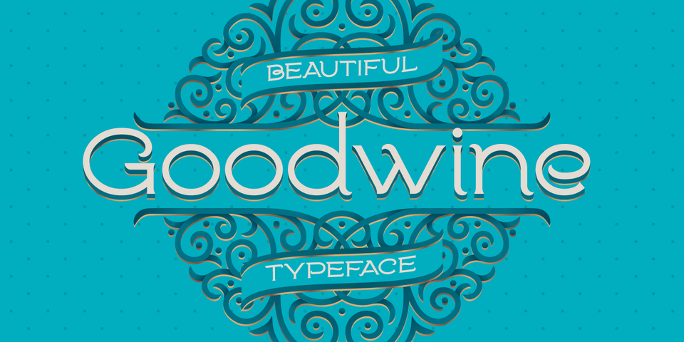 Goodwine font page