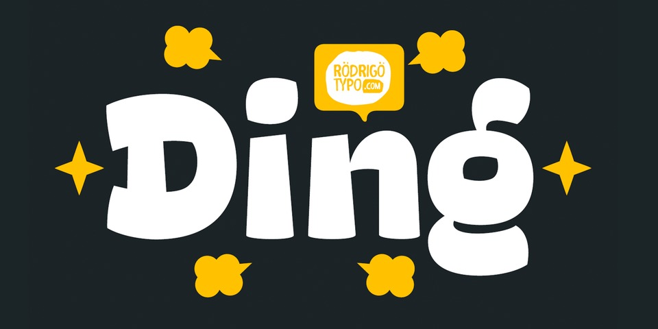 Ding font page